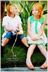 ALA: OP Kids - Sanji and Nami