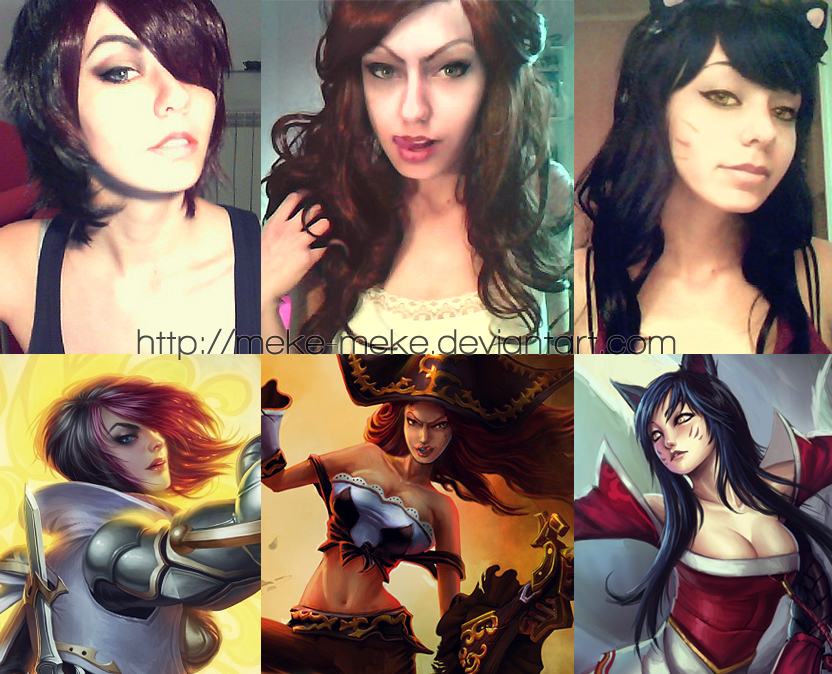 League of Legends make up by meke-meke