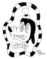 Goofy by 666comicman1996