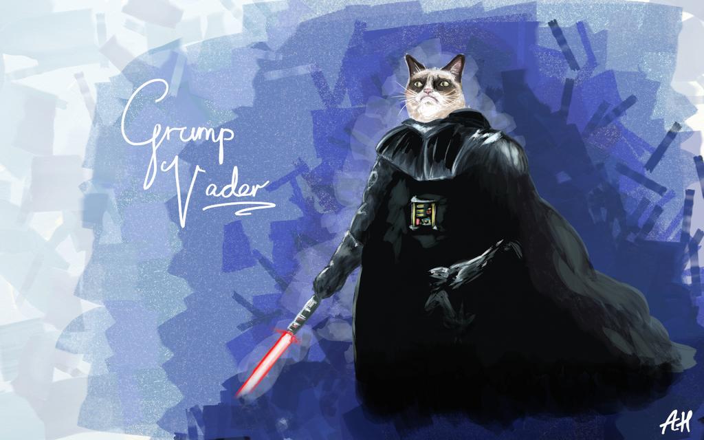 Grump Vader by Mr-Howl