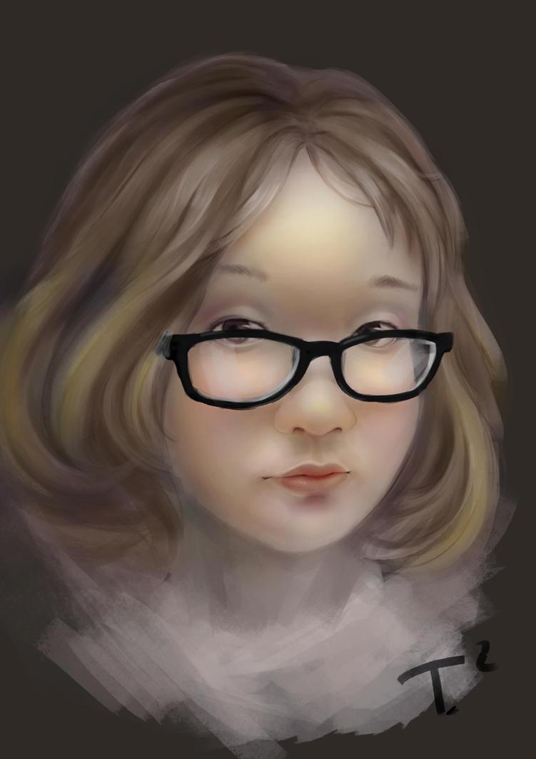 portrait by doratsu