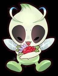 celebi sticker by iiTyrano-Chan