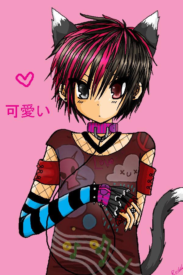 VK kitty boy XD by Reita666