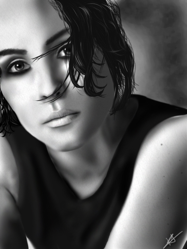 Lisbeth Salander: Noomi Rapace by xpiratical