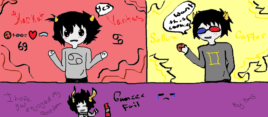 karkat and sollux also gamzee by yuukikuransaama-d5afgi0 pngKarkat And Gamzee And Sollux
