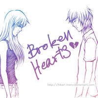 Broken Hearts by hikari-maru