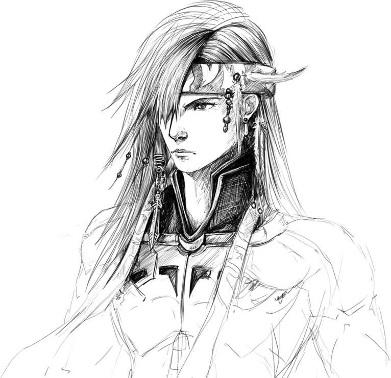 Caius Sketch by Zefy