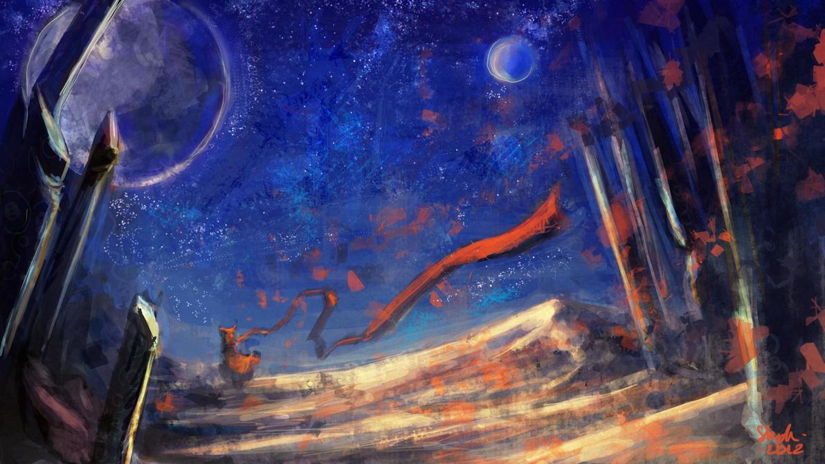 Journey by night by Zefy