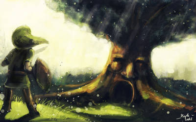 Tloz - Deku Tree