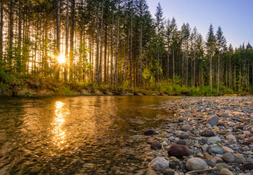 Squire Creek by PNWDronetography