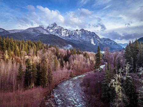 Sauk Mountain valley (Whitechuck river)