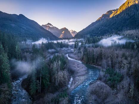 A Crisp Foggy Morning
