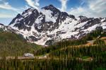 Mt. Shuksan and the Baker Ski Resort