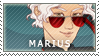 [ FFXV ] Marius Carcinos stamp by MidnightBliss123