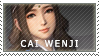 [ DW9 ] Cai Wenji stamp by MidnightBliss123