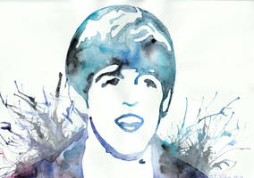 Paul by watercolors by Sarah-Sky