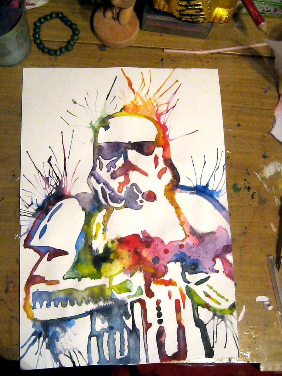Stormtrooper by Sarah-Sky