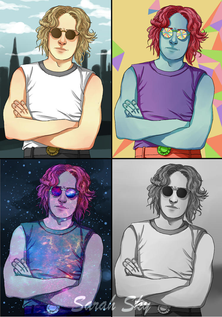 Different Lennon by Sarah-Sky