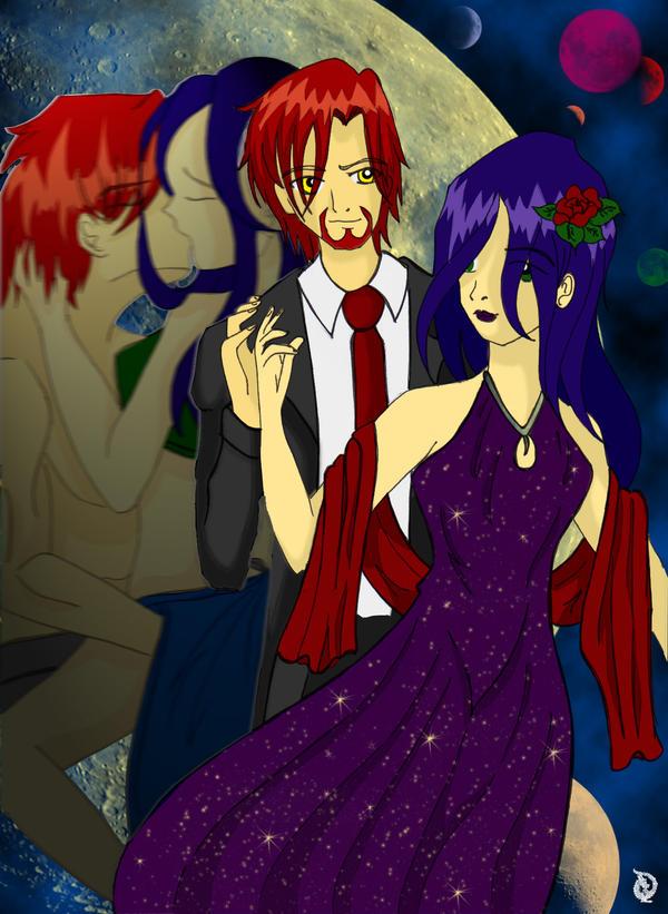 Dante und Zahlia by JennyMeiou