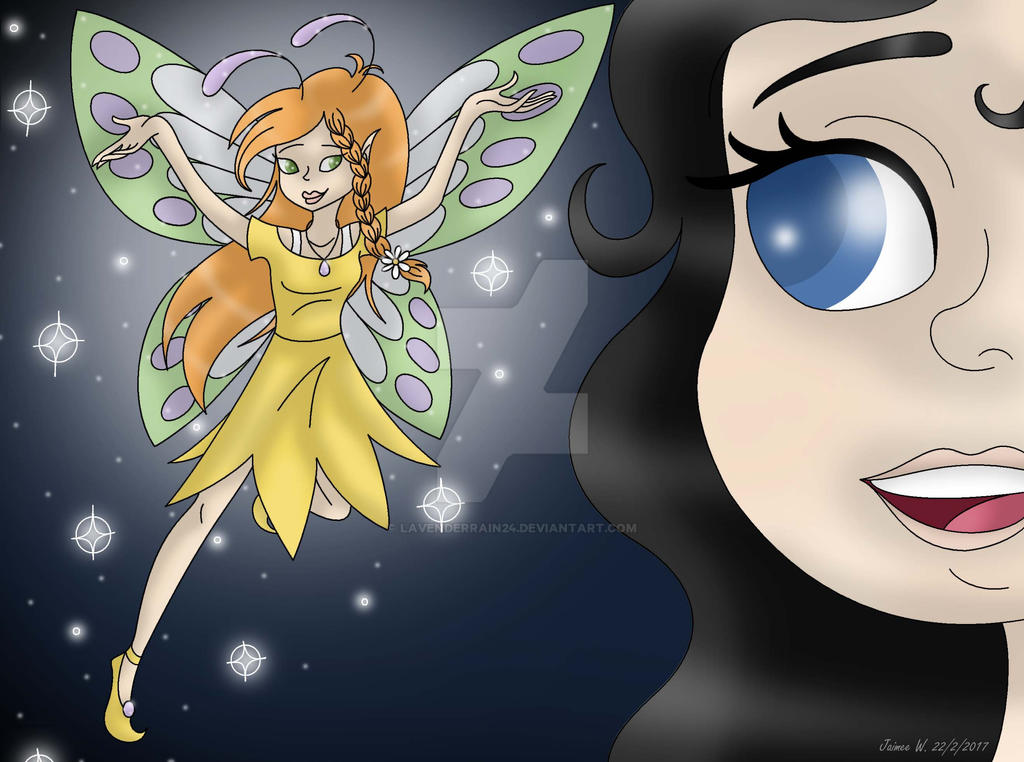 Sapphire and the Fairy of Spring by Jaimeelee123