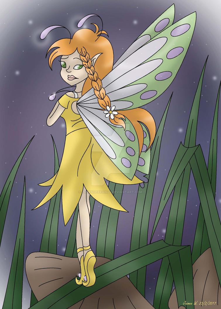 Serena the Fairy of Spring by Jaimeelee123