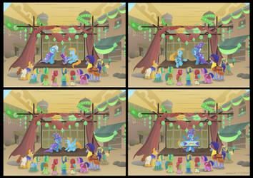 Saddle Arabia Magic Show (Point Commission) by LavenderRain24