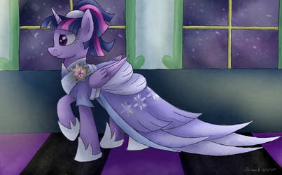 Twilight's Dress | SPEEDPAINT