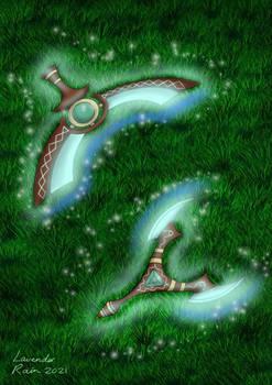 Enchanted Boomerang Blade (DND WEAPON DESIGN)