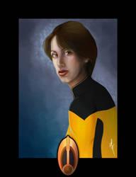 Star Trek Bajoran Officer by kaltblut