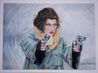 Big Guns of Resident Evil by kaltblut