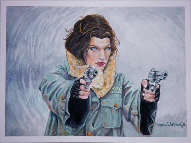 Big Guns of Resident Evil