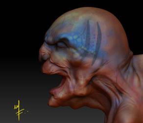 Zbrush quick sketch render by kaltblut