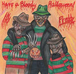 Happy Halloween from Freddy by dinoloverXX