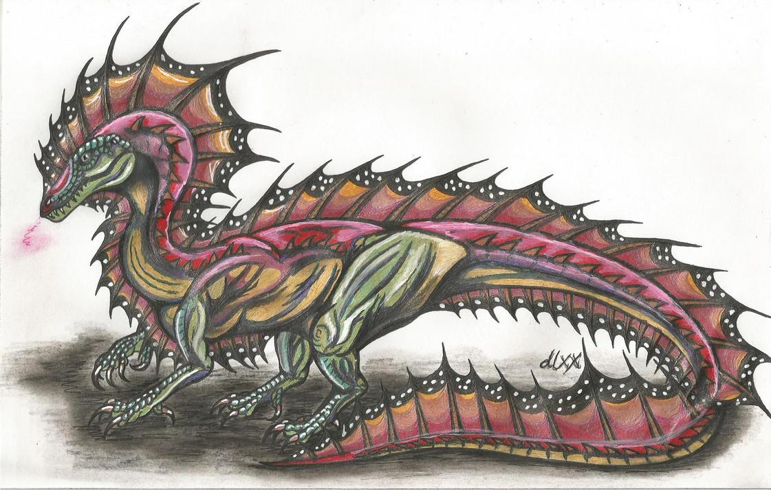 Elemental Dragon by dinoloverXX