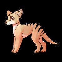 thylacine by Suitcasedog