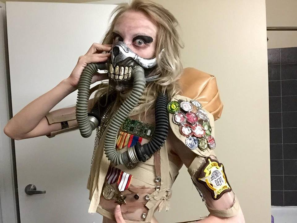 Beliebt Immortan Joe Cosplay Costume Mad Max Fury Road by mch2020moehunt  QA43