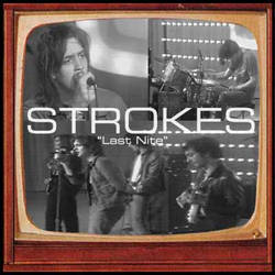 Strokes Last Night 45 Record Sleeve by besound410