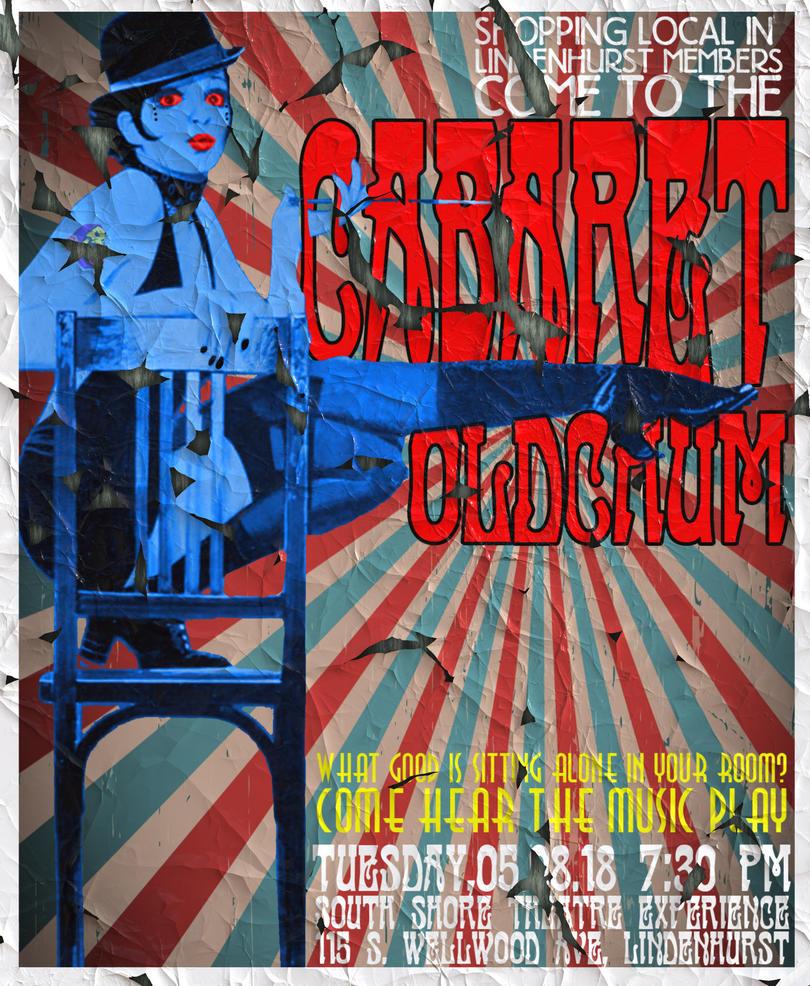 Cabaret - POSTER BUSINESS MEETING IN LINDENHURST by besound410