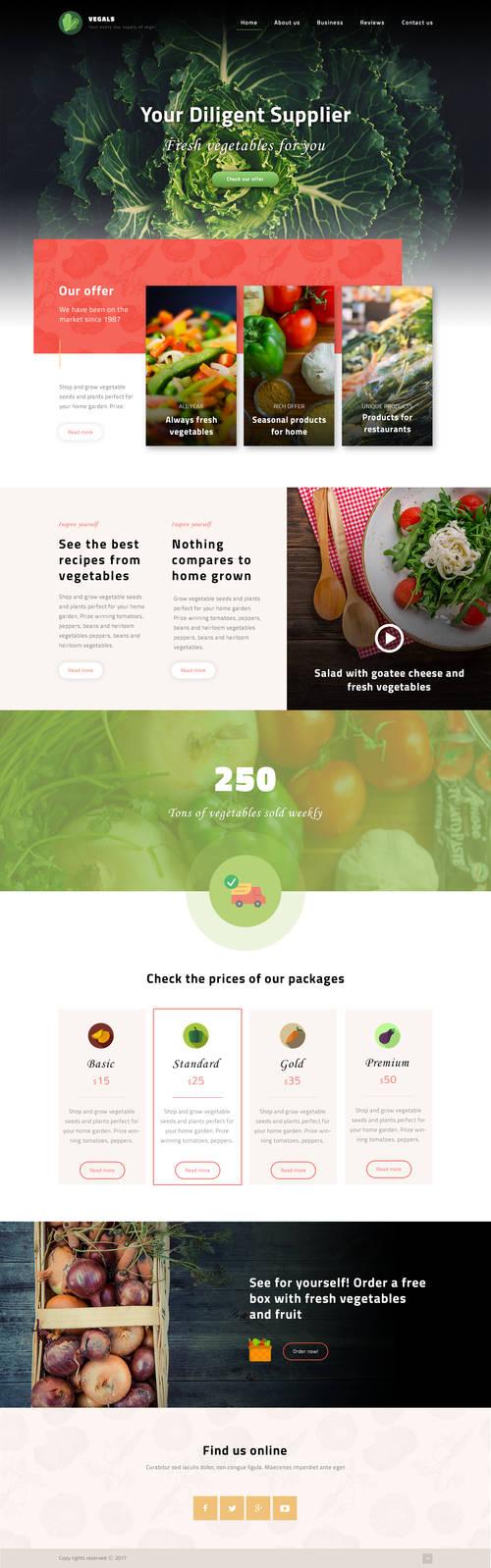 Vegals website
