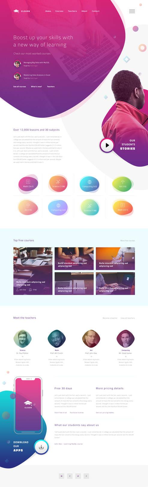 Elearn website