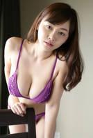 Anri Sugihara's purple bikini 2 by Anri-Sugihara