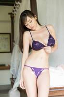 Anri Sugihara in purple bikini 4 by Anri-Sugihara