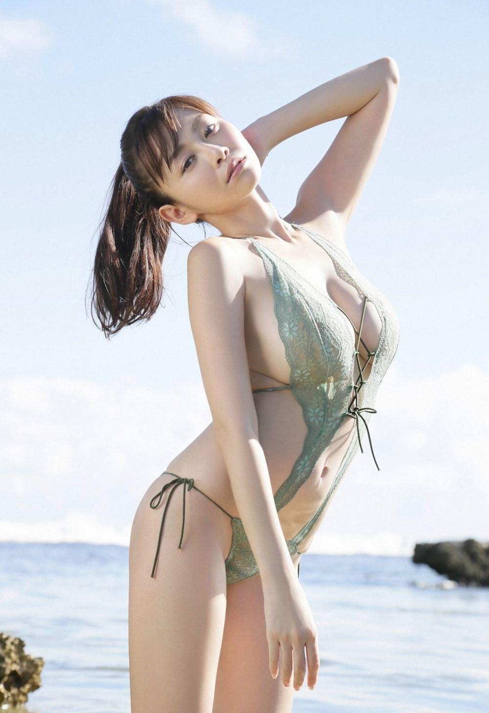 Anri Sugihara In Exotic Swimsuit By Anri Sugihara On