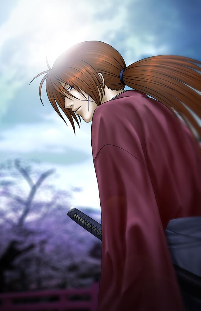 Himura Kenshin (Rurouni Kenshin) by KaMuiSouZou