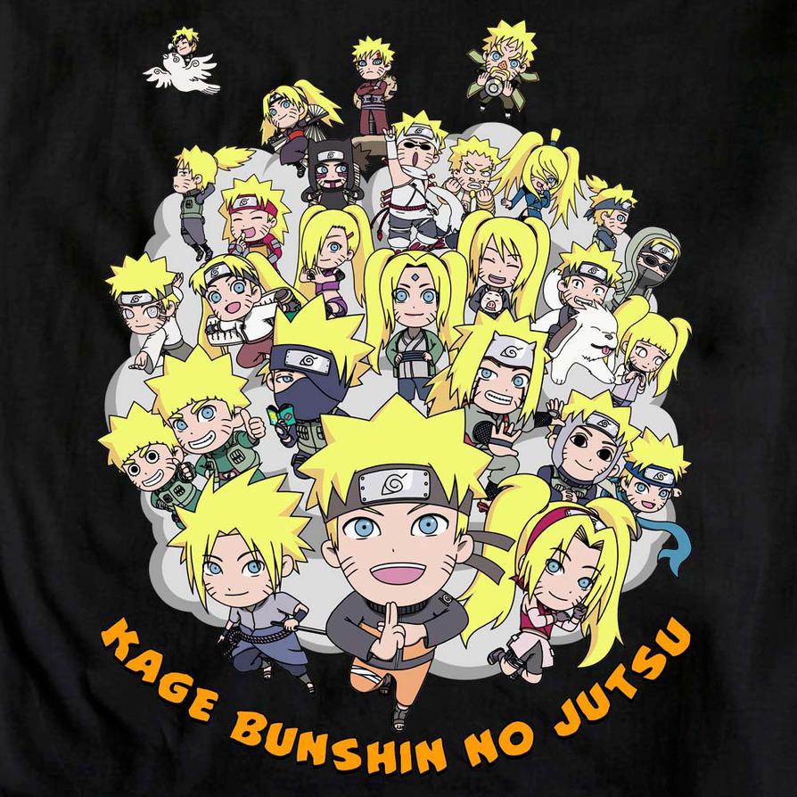 Kage Bunshin no Jutsu by KaMuiSouZou