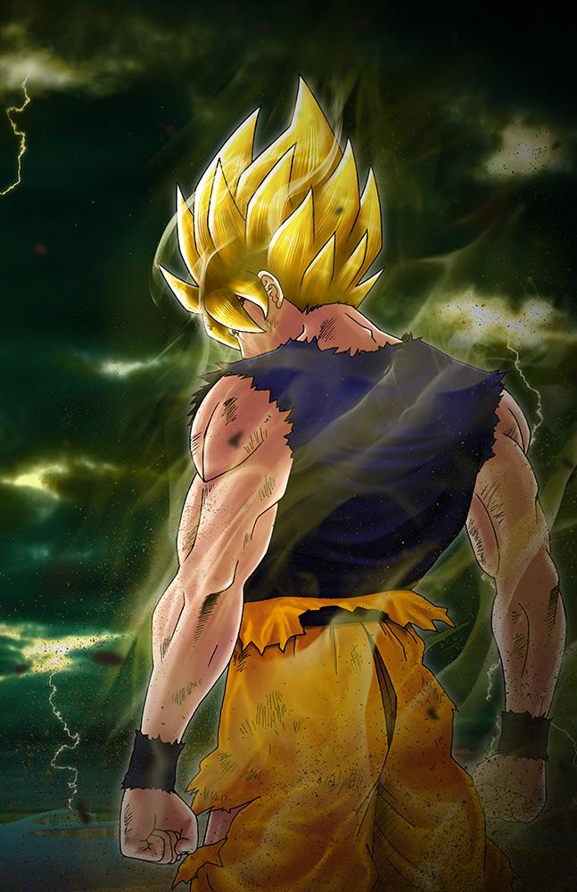 The Legendary Super Saiyajin by KaMuiSouZou