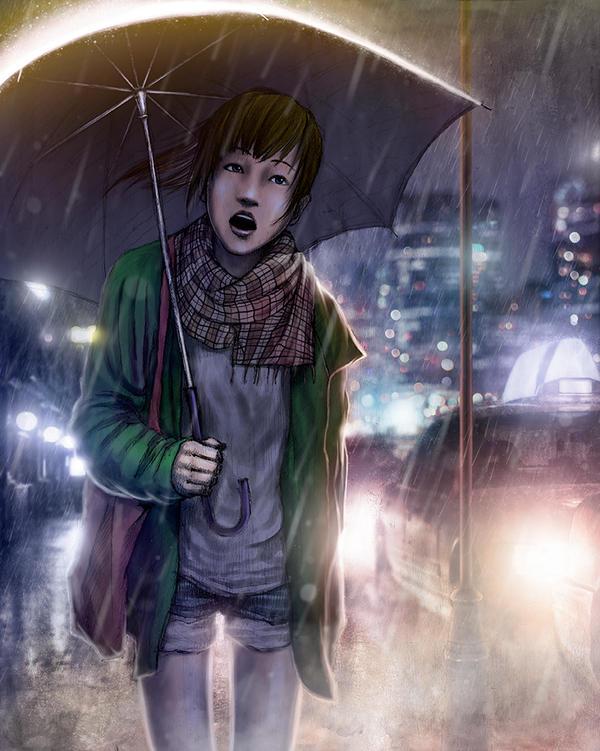 Rainy by KaMuiSouZou