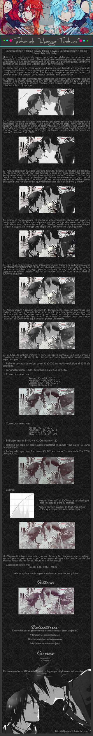 Tutorial Manga Texture