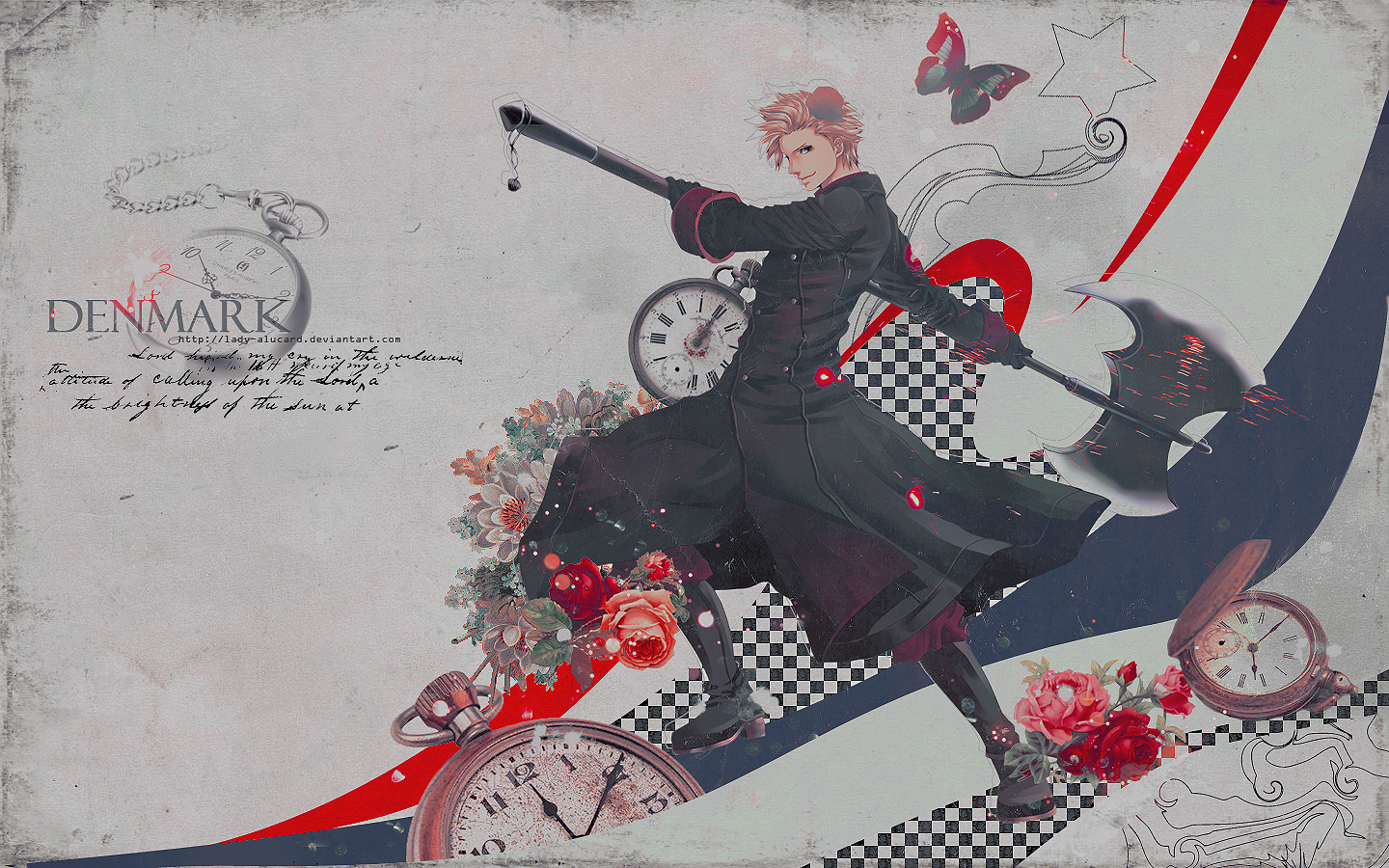 Denmark_-_Hetalia wallpaper by lady-alucard