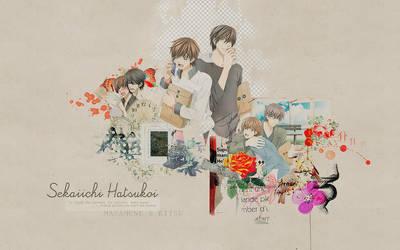 Sekaiichi Hatsukoi Wallpaper by lady-alucard